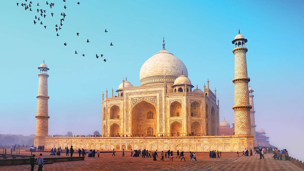Taj Mahal is fast losing its all-white splendor. (Supplied)
