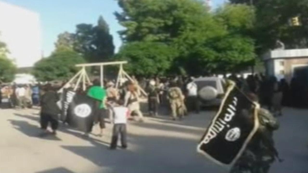 عمليات إعدام نفذها داعش في الرقة (أرشيفية)