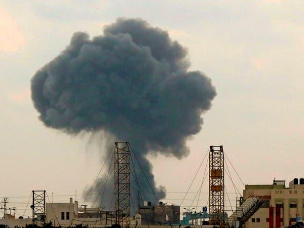 مقتل عنصرين في كتائب القسام بغارة إسرائيلية على غزة