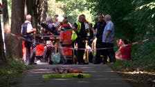 Injuries, some serious, after suspected knife attack on German bus
