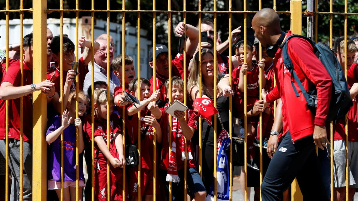 Fabinho says the club have the depth and talent to challenge champions Manchester City. (Reuters)