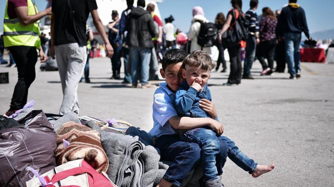 Syrian refugees (AFP)