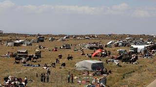 نازحون في جنوب سوريا
