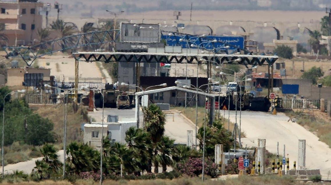 Nassib BORDER CROSSING. (AFP)