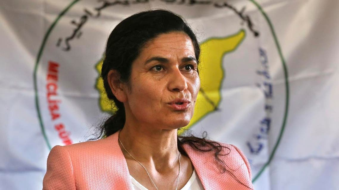 Ilham Ehmed Syrian Democratic Council (AP)