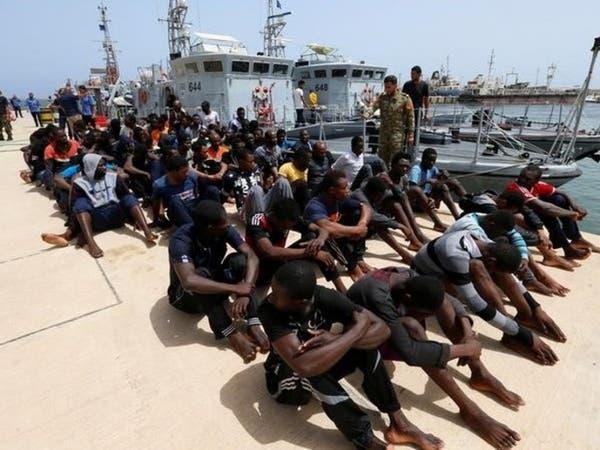 ليبيا.. إنقاذ 87 مهاجراً قبالة ساحل المتوسط