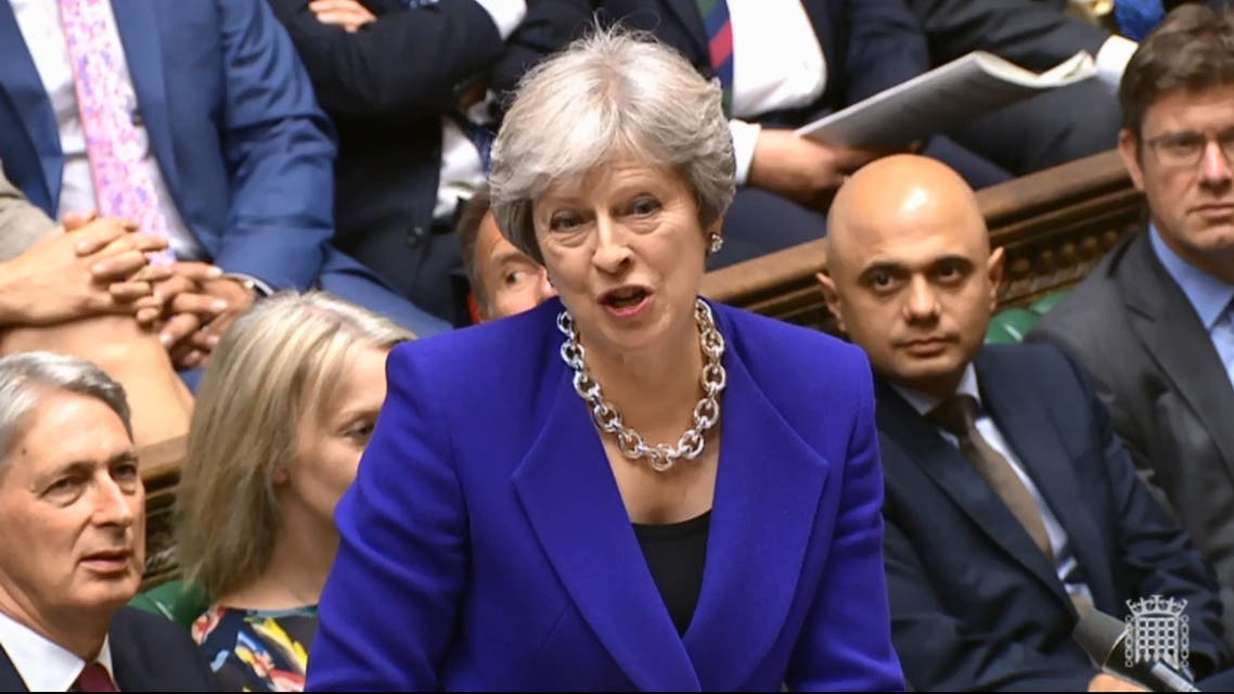 May's stint as prime minister has been fraught with difficulties ever since she took over. (AFP)