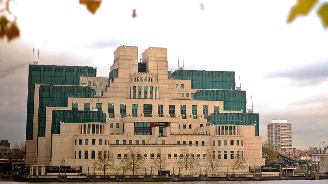 The headquarters of Britain's MI6 intelligence agency in London on November 23, 2010. (AFP)