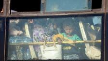 قنیطرہ سے انخلاء: 2800 جنگجو اور شہری حماہ صوبے پہنچ گئے