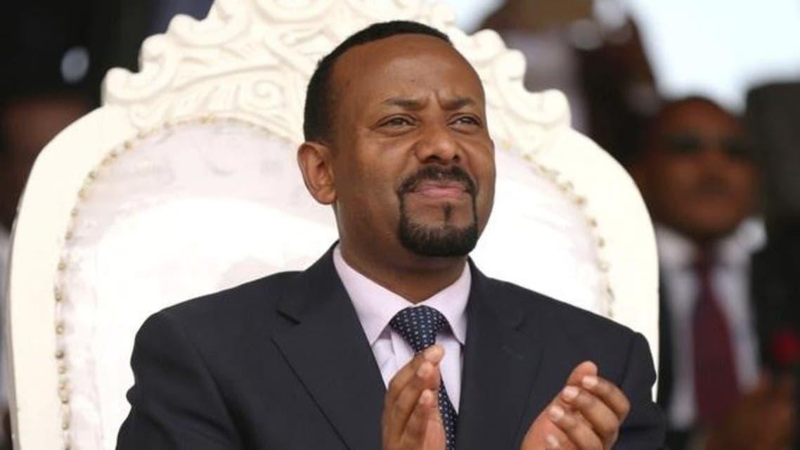 رئيس وزراء إثيوبيا أبي أحمد في إقليم أروميا يوم 11 إبريل