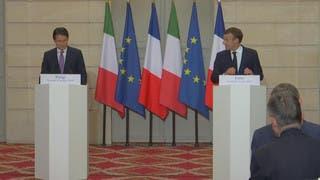 صراع إيطالي فرنسي حول ليبيا