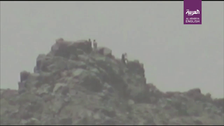 Video shows Houthi militants fleeing from advancing Yemeni army