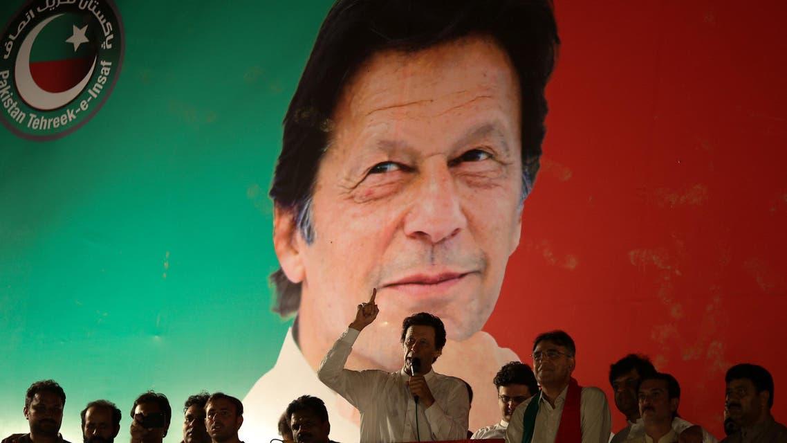 Imran Khan pakistan. (AP)