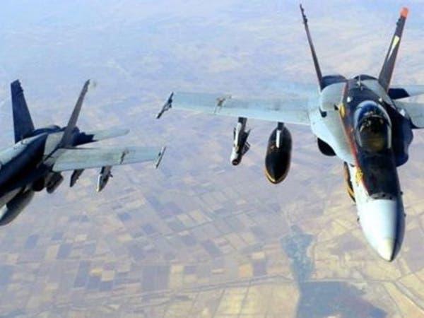 مقاتلات التحالف تدمر تعزيزات لميليشيات الحوثي في تعز