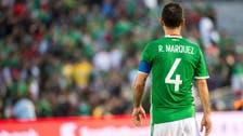 المكسيكي ماركيز يشكر الجماهير ويودع كرة القدم