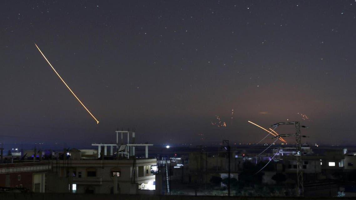 غارات إسرائيلية سابقة على سوريا