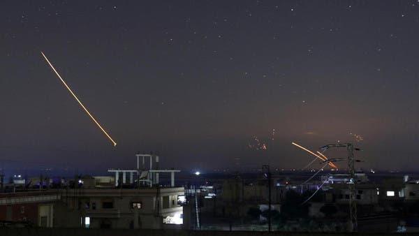 """غارات إسرائيلية على سوريا """"أرشيفية"""""""