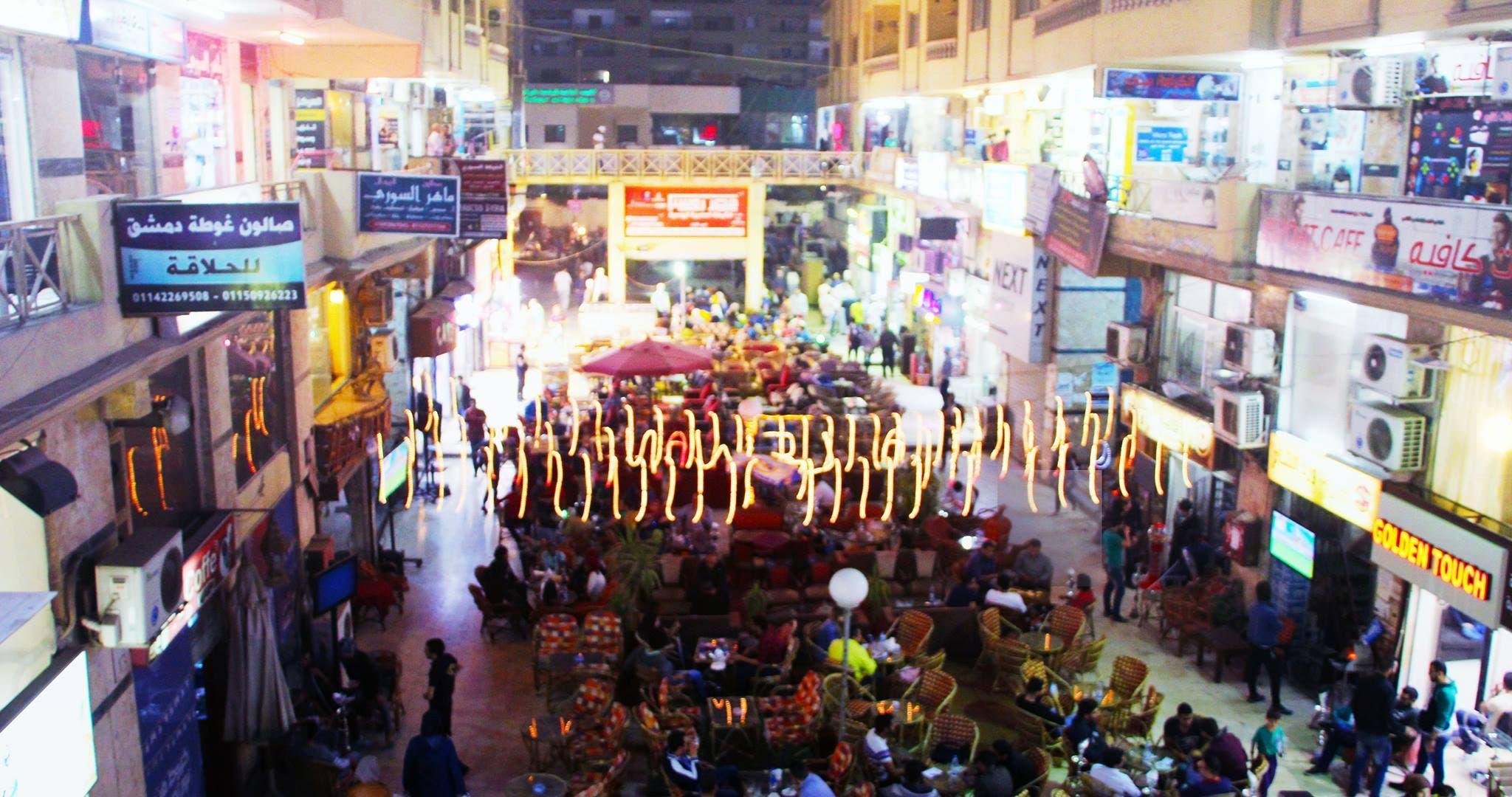أسماء المتاجر السورية تنتشر في الأسواق المصرية