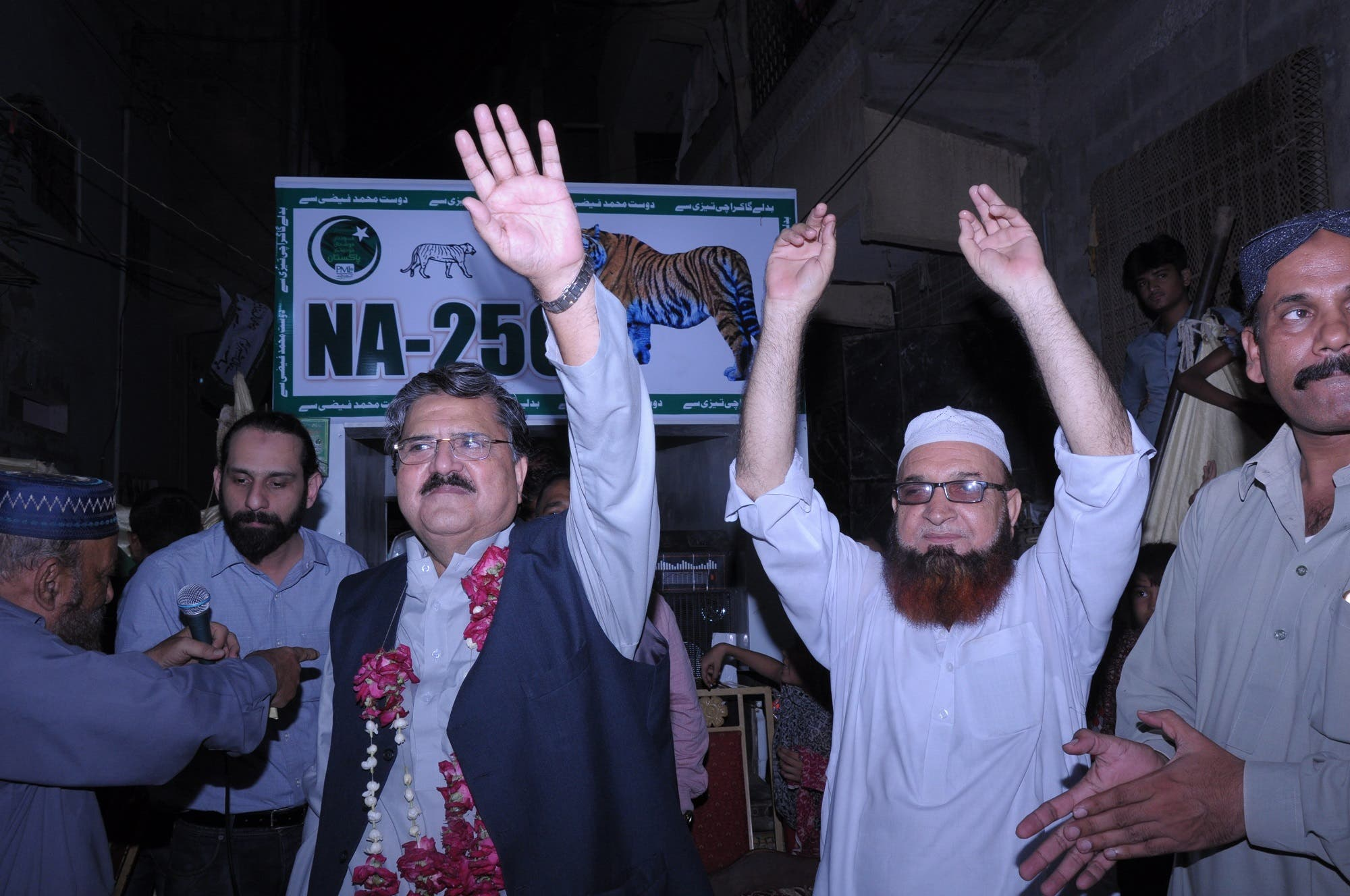 The constituency Faizi is contesting from is the most educated across the country. (Supplied)