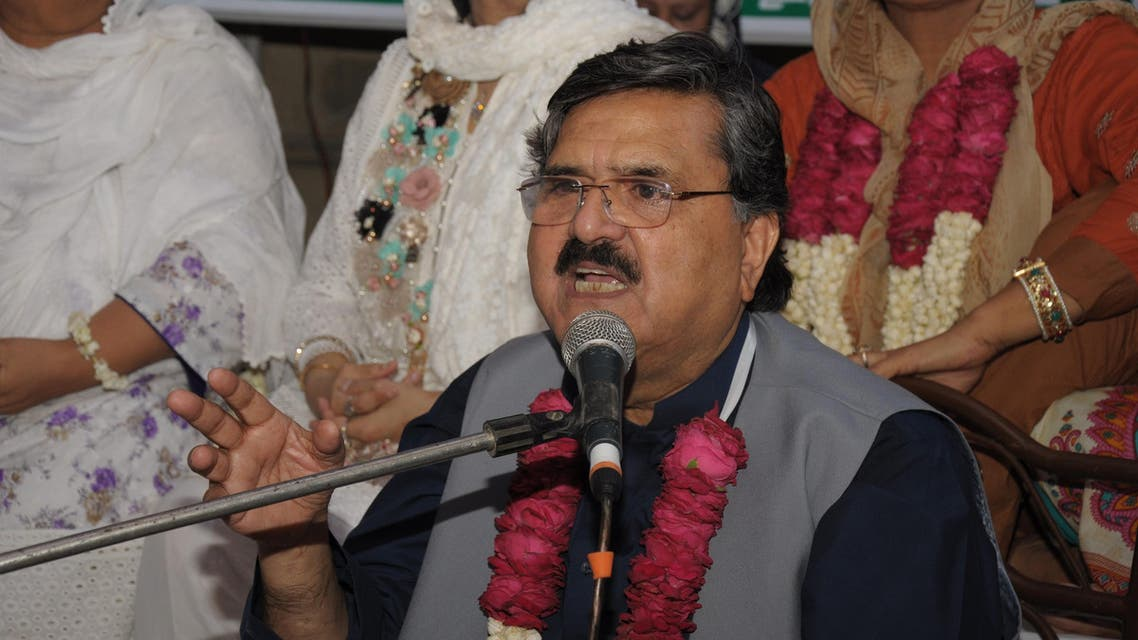Dost Mohammed Faizi has served as provincial minister four times. (Supplied)
