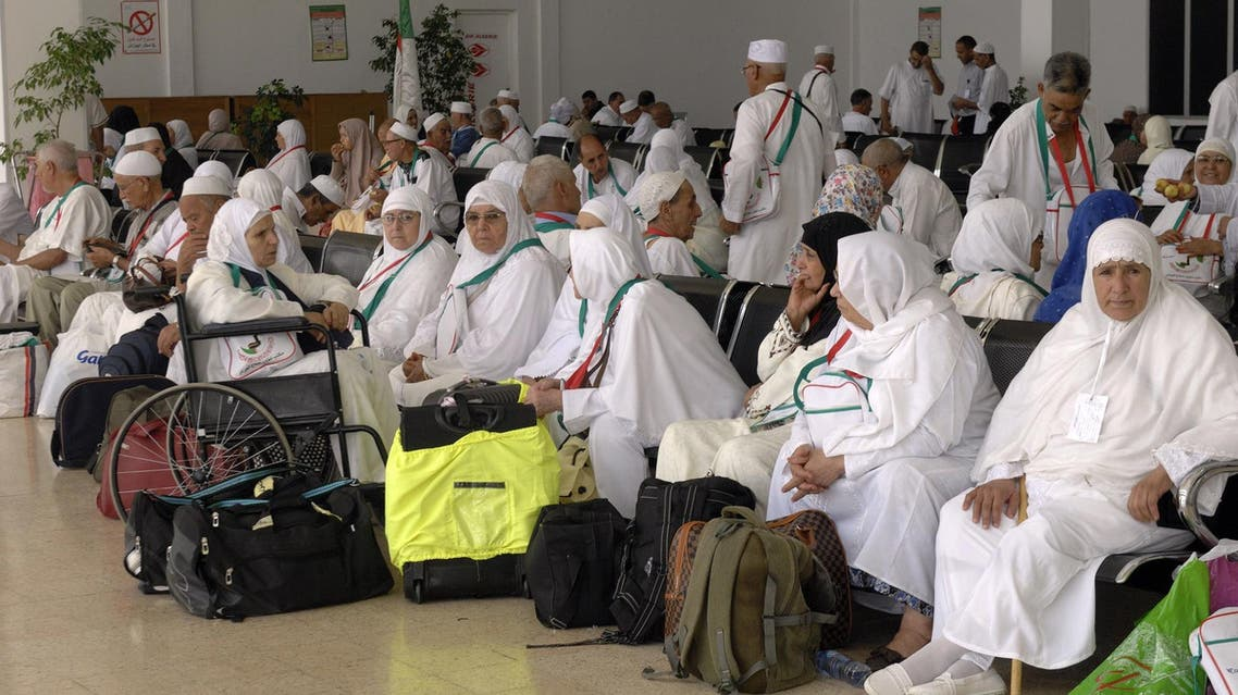As many as 159,599 pilgrims remained in Medina while others left for Mecca. (File photo: AFP)