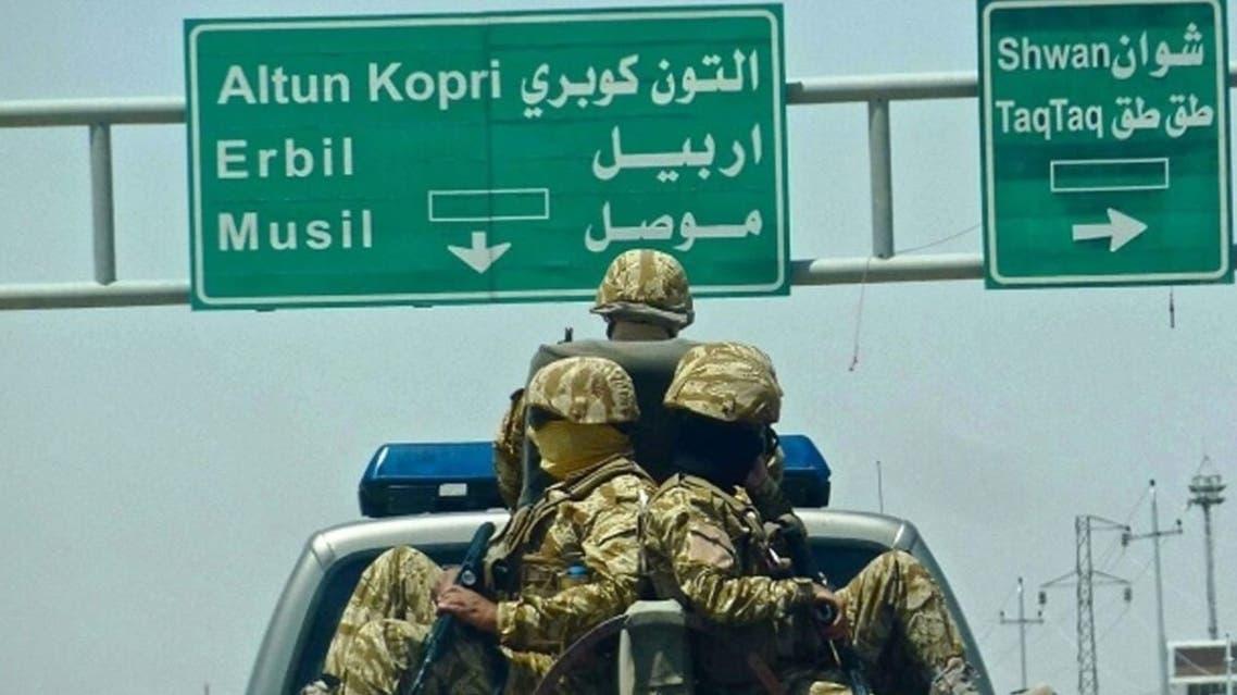 طريق بغداد أربيل