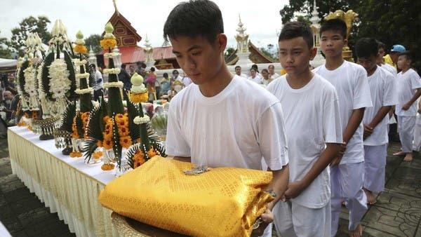 تايلاند.. أطفال الكهف يتحولون إلى رهبان بوذيين
