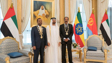 Abu Dhabi Crown Prince presents Order of Zayed to Eritrea president, Ethiopia PM