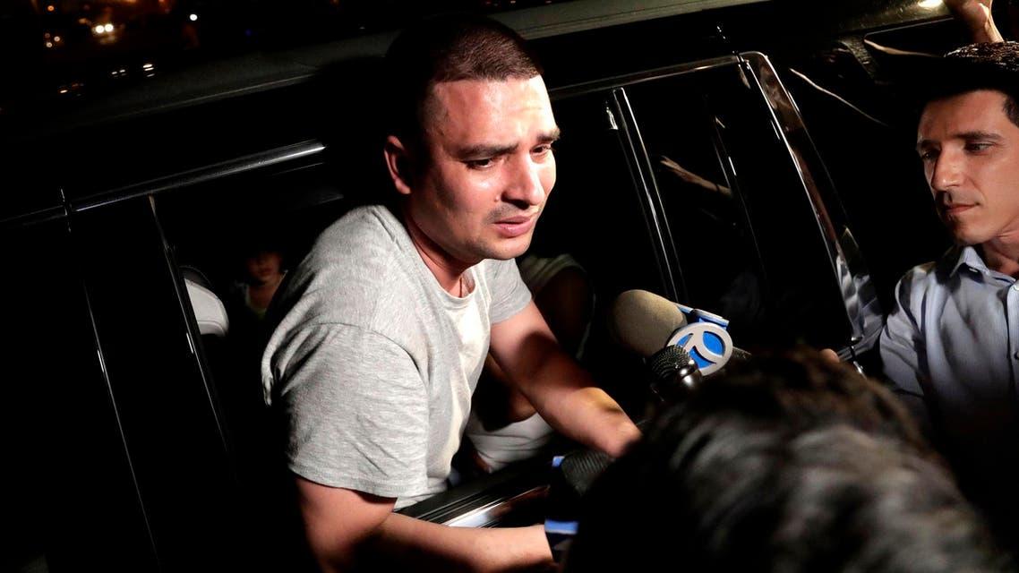 Ecuadorian immigrant pizza delivery boy released. (AP)