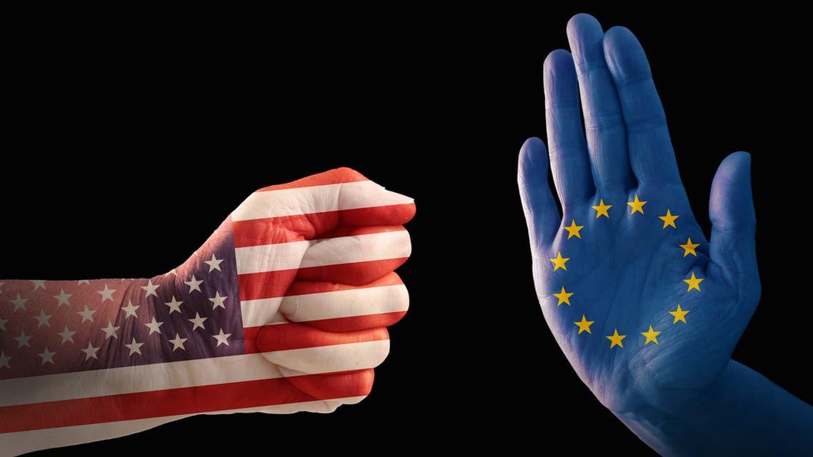 حرب تجارة أميركا أوروبا