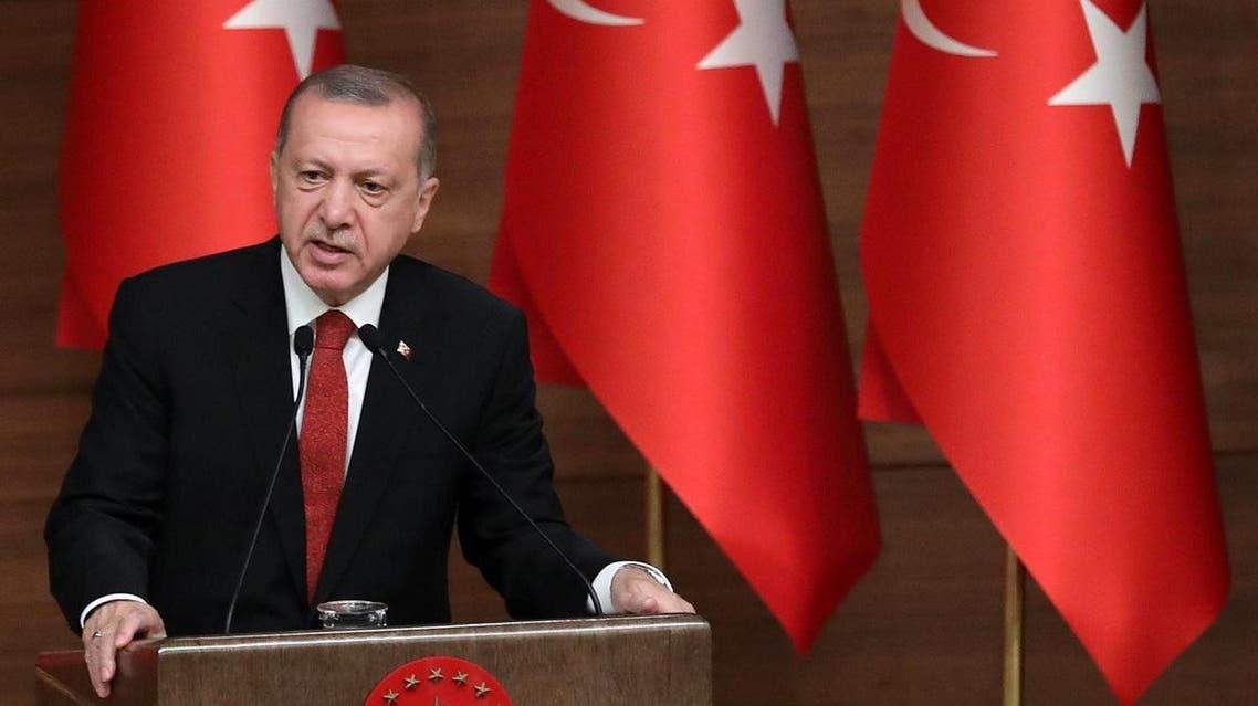 Turkey's President Recep Tayyip Erdogan. (AFP)