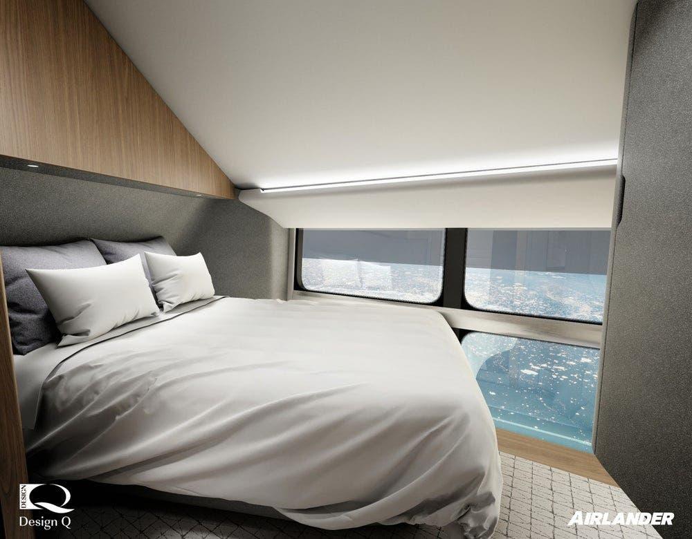احد الأسرة في غرفة نوم بداخل الأجنحة  الملحق بها حمامات خاصة