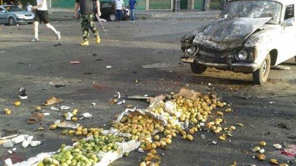 من التفجير الذي ضرب السويداء في سوريا