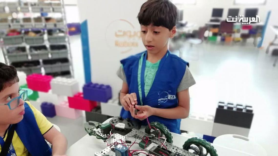 Saudi child defies his autism to become a robotics whiz