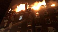 """لندن.. استنفار """"إطفائي"""" لمكافحة حريق بمبنى سكني"""