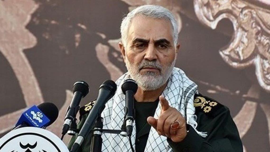 سليماني في خطابه في مدينة همدان الخميس