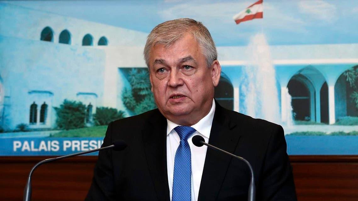Lavrentyev in Beirut(AP)