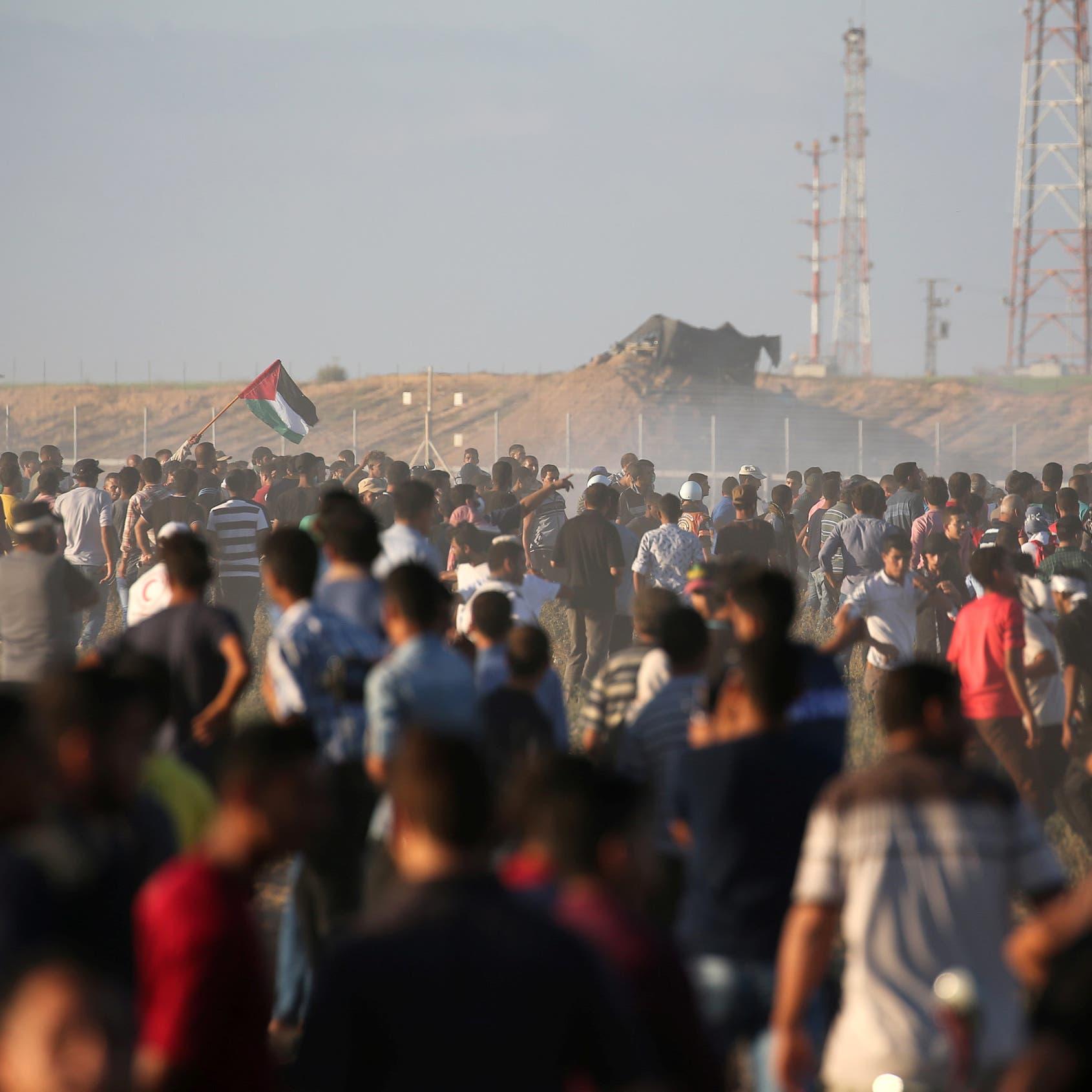 غزة.. مقتل فلسطينيين وإصابة 184 برصاص قوات الاحتلال
