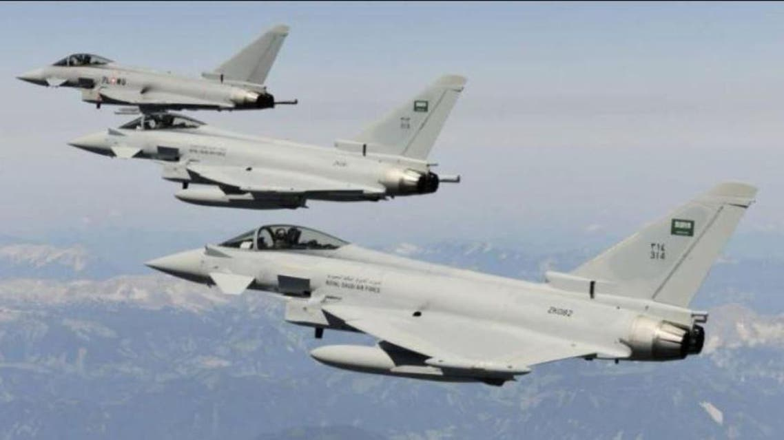 Coalition fighter jets in Yemen. (Supplied)