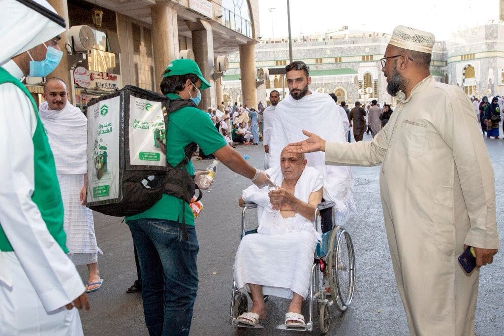 Saudi volunteer hajj 3 (Supplied)