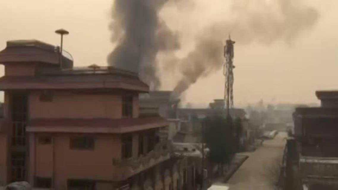 حمله مهاجمان انتحاری به یک مرکز آموزشی در شهر جلال آباد افغانستان