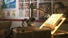 شاهد الأعمال الفنية للروبوتات الرسامين