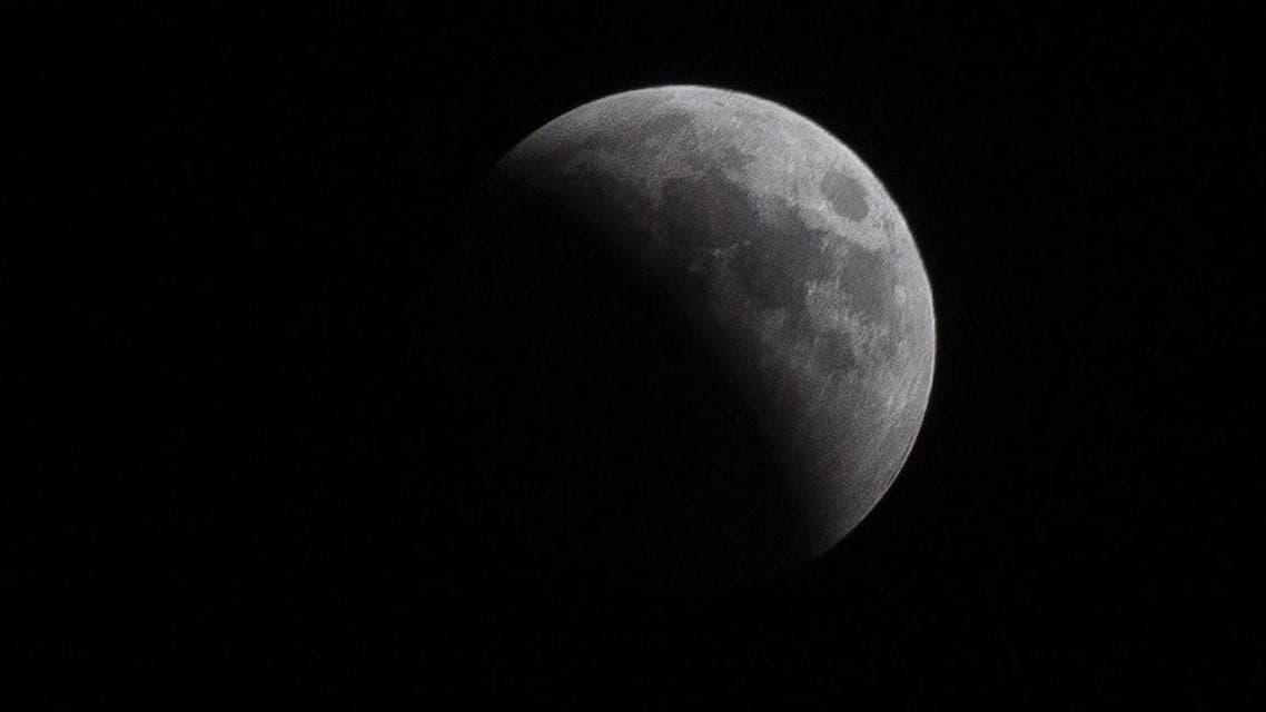Eclipse from Saudi Arabia. (SPA)