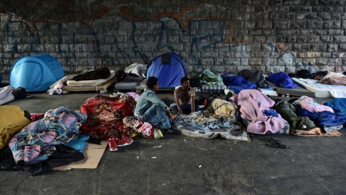 صورة تعبيرية لاجئون لاجئين