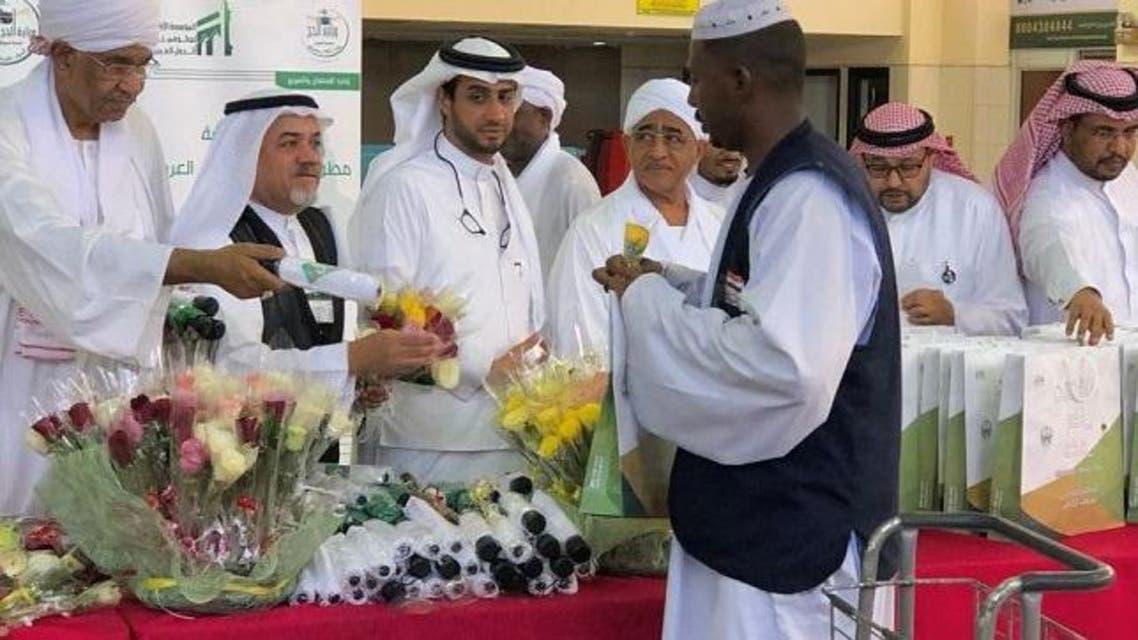 Sudan pilgrims arrive for hajj. (SPA)
