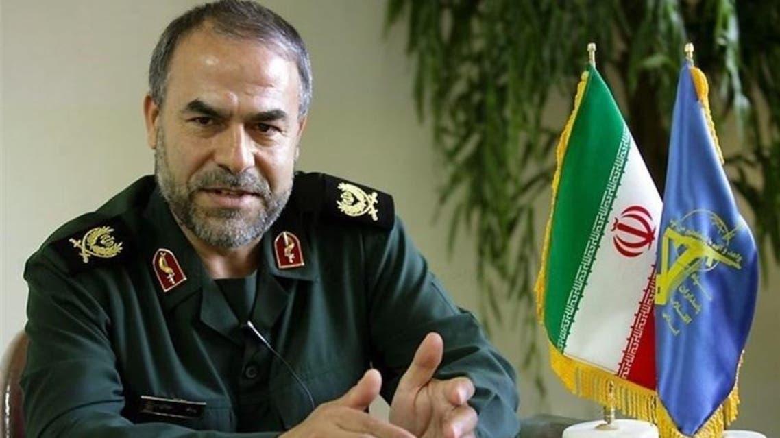 Iran's RGC Lieutenant Commander Yidallah Javani (Supplied)