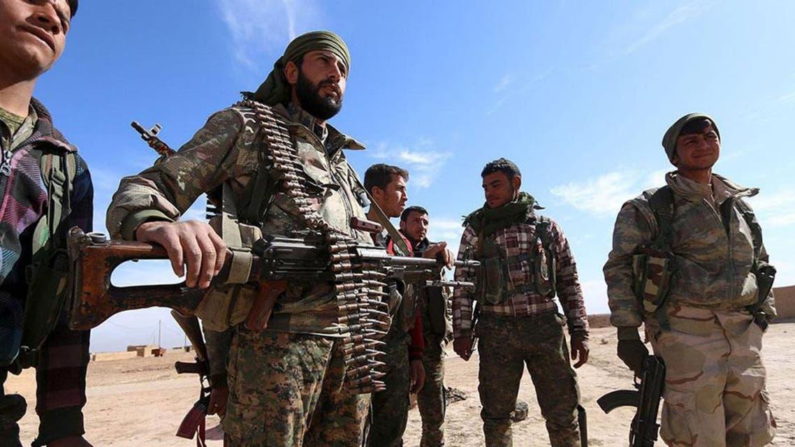 قوات من سوريا الديمقراطية