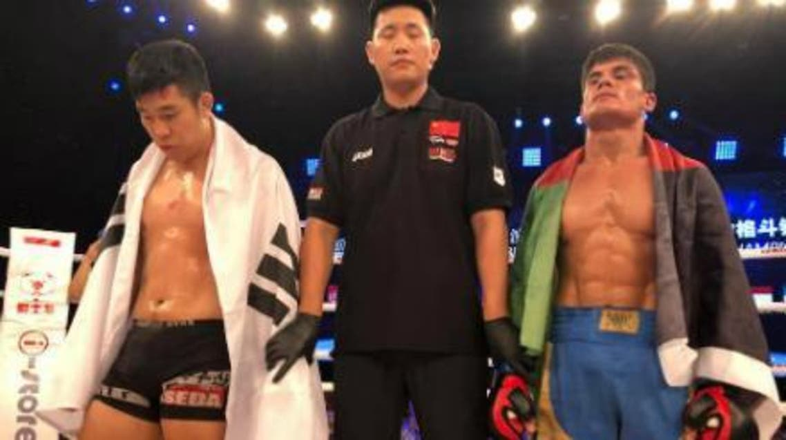 ورزشکار افغان حریف کوریای جنوبیاش را شکست داد