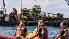 Lebanon drops 10 army tanks in the sea to attract tourists, save wildlife