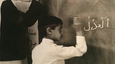 Dubai ruler shares rare childhood photo of Abu Dhabi crown prince